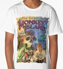 Monkey Island Long T-Shirt
