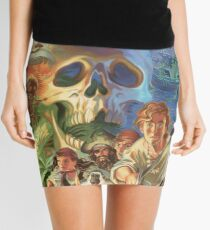 Monkey Island Mini Skirt