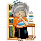The Little Librarian by © Karin Taylor