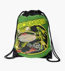 Frogger Drawstring Duffel Bag