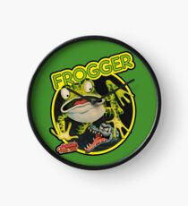 Frogger Wall Clock - choice of colours