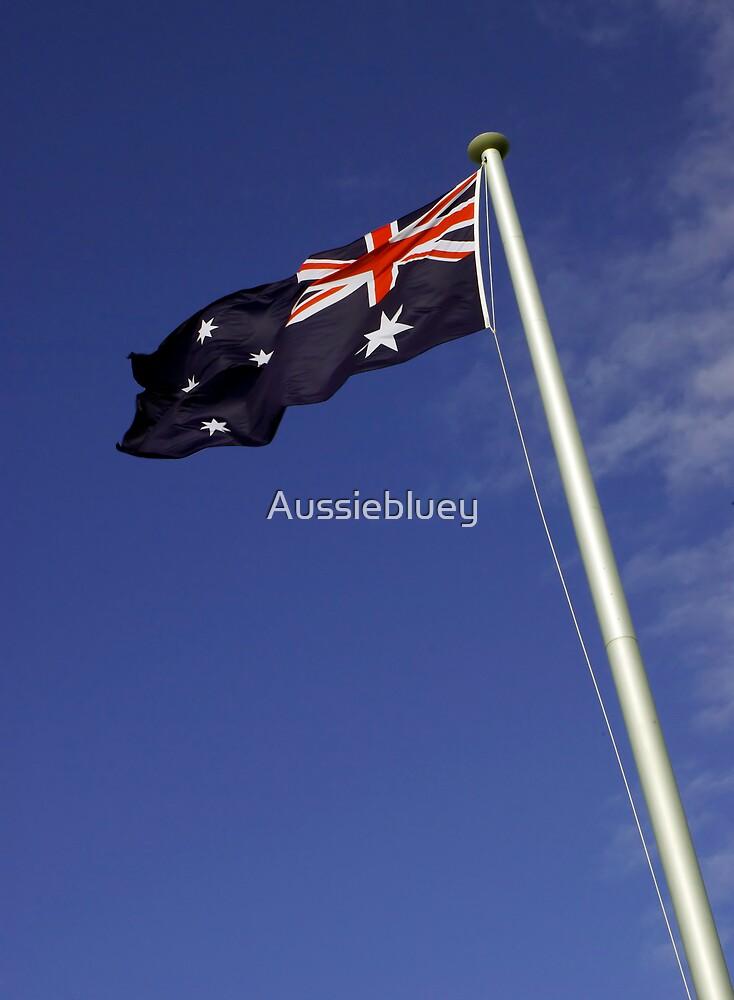 Go Aussies, Go. by Aussiebluey