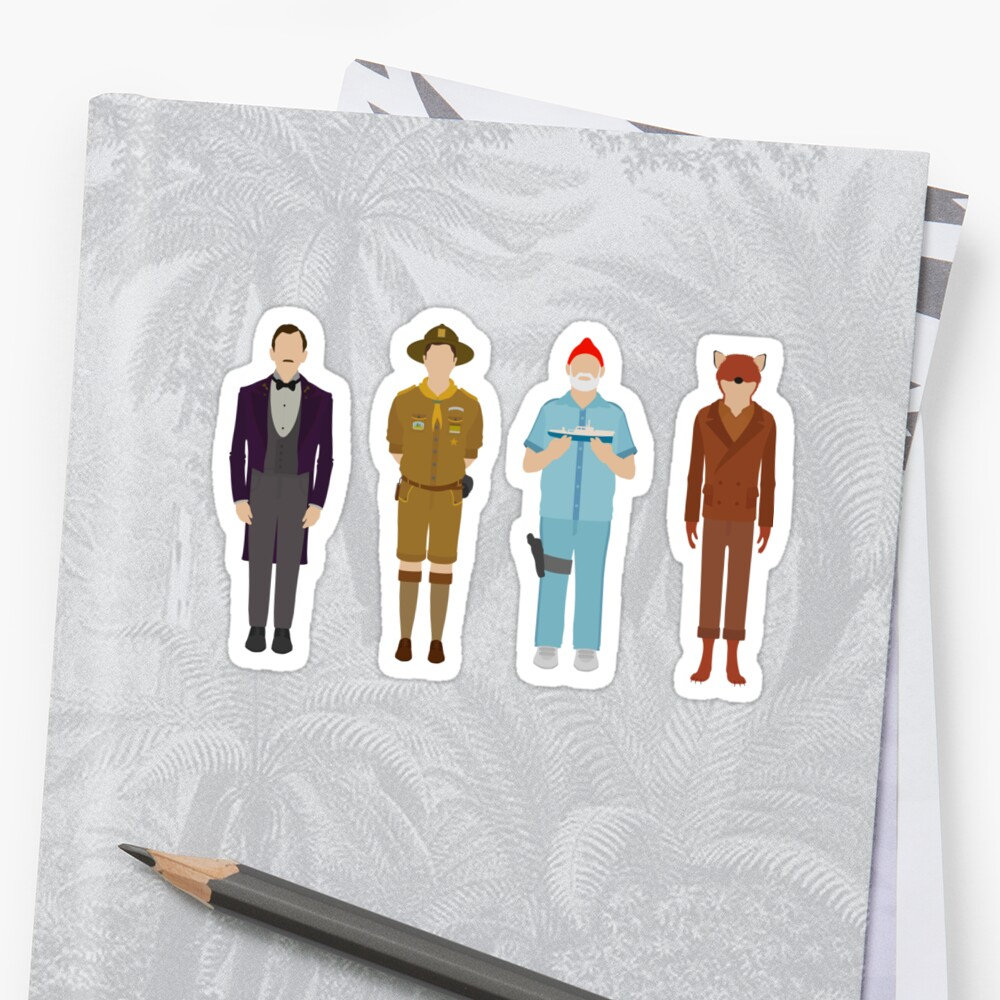 Wes Anderson Collection by dragedesigns