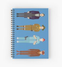Wes Anderson Collection Spiral Notebook