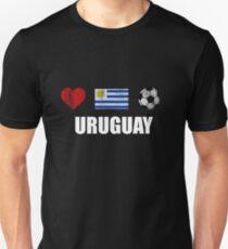 Uruguay Football Shirt - Uruguay Soccer Jersey Unisex T-Shirt d060f53b0