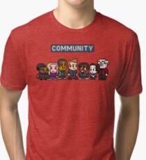 Community - 8Bit Tri-blend T-Shirt