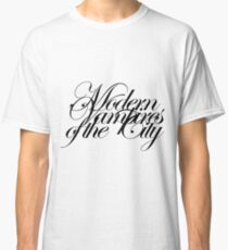 Modern Vampires of the City Text Large Classic T-Shirt