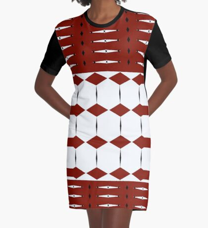 More Than Diamonds Graphic T-Shirt Dress