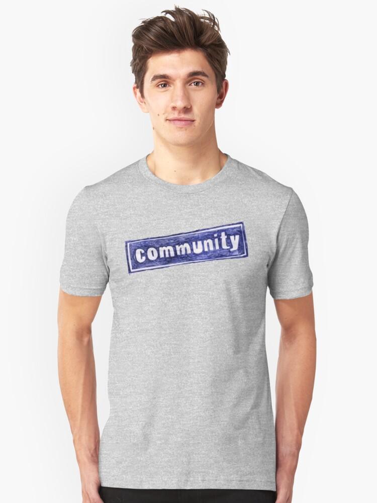 Community Logo Unisex T-Shirt Front