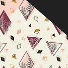 Rhombus&Palms #redbubble #decor #buyart by designdn