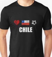 Chile Football Shirt - Chile Soccer Jersey Unisex T-Shirt