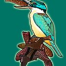 Chocolate Fish for New Zealand Kingfisher. by SmileDial
