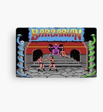 Barbarian Gameplay Canvas Print
