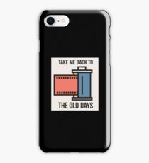 Take Me Back To The Old Days - Retro, Retro Technology, Retro Life, Classic iPhone Case/Skin