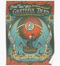 GD - Fare Thee Well (50 Years) Poster