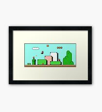 Super Mario Bros 3 Framed Print