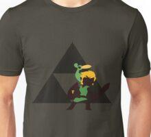 Link & Ezlo - Sunset Shores Unisex T-Shirt