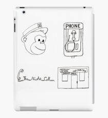Serial Podcast Drawing. iPad Case/Skin