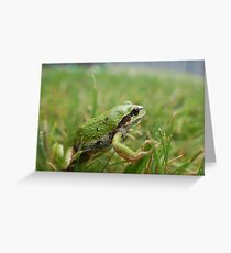 WHAT IS FOR BREAKFAST TODAY Greeting Card
