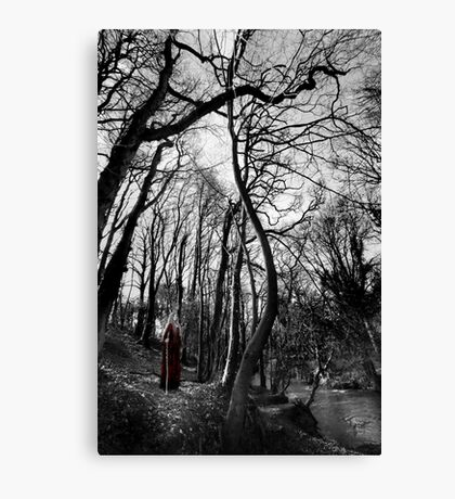 The Valley Of The Shadow Canvas Print
