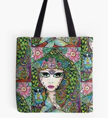 Gypsy Moth by Sheridon Rayment Tote Bag