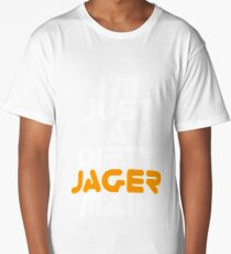 I Main Jager Rainbow Six Siege White Text Long T-Shirt