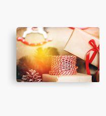 Christmas stuff for presents  Canvas Print
