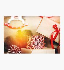 Christmas stuff for presents  Photographic Print