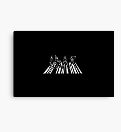Elvis Beatles Canvas Print