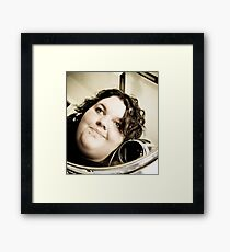 Facial. Framed Print