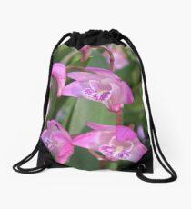 Australian Native Orchids. Drawstring Bag