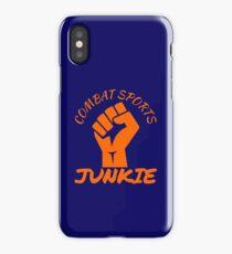 Combat Sports Junkie iPhone Case/Skin