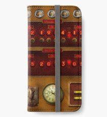 Steampunk - Temporal Flux iPhone Wallet/Case/Skin