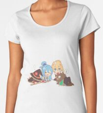 Konosuba Chibi Women's Premium T-Shirt