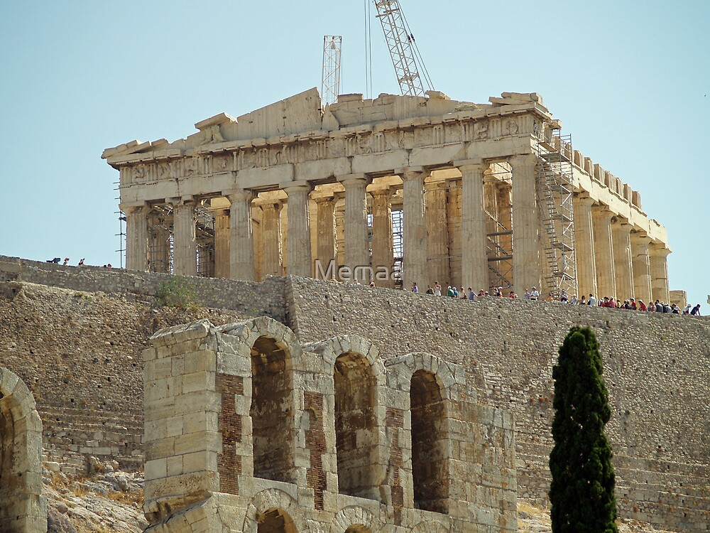 The Acropolis by Memaa