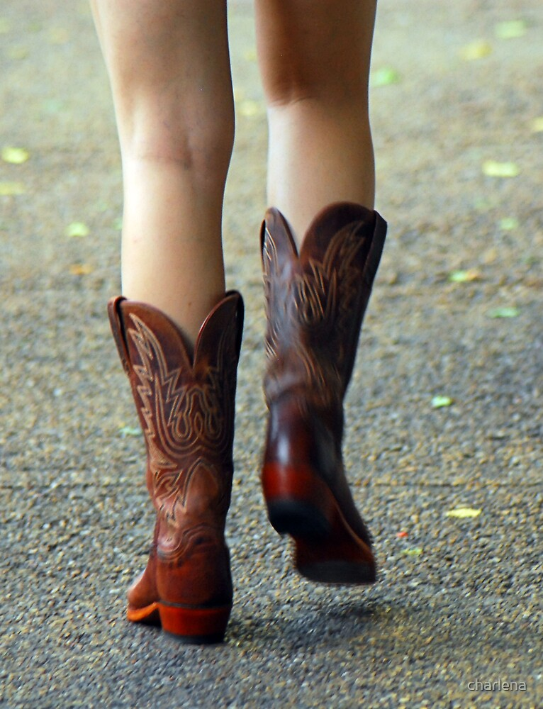 These Boots Were Made For Walking by charlena