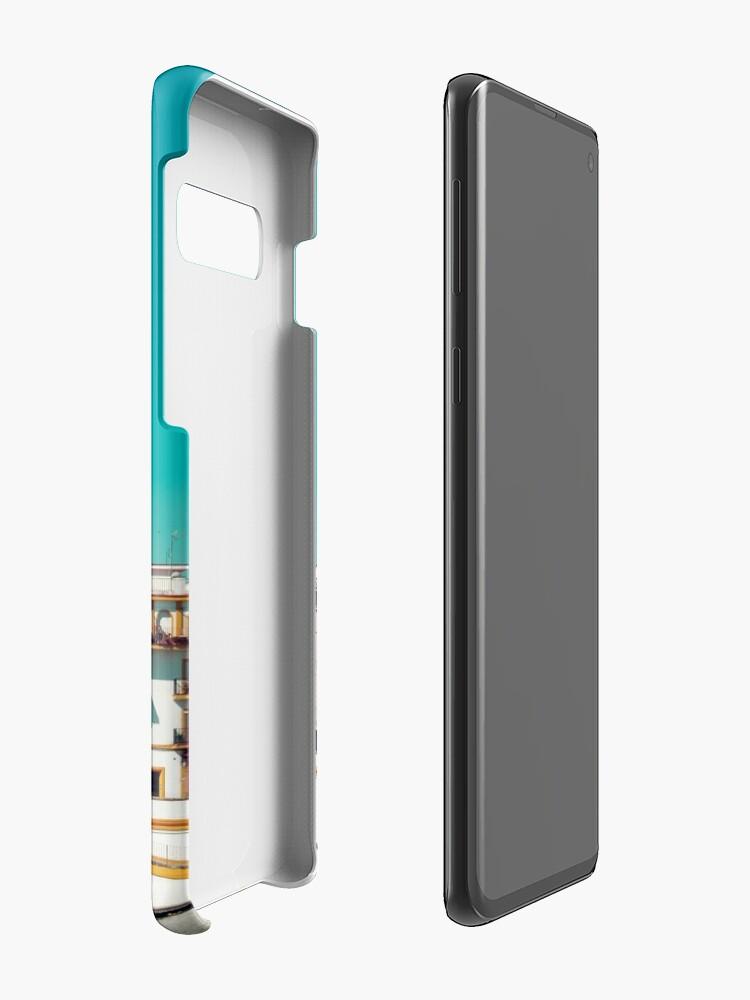 Vista alternativa de Funda y vinilo para Samsung Galaxy Triana, la bella