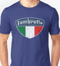 Lambretta Italia Badge DISTRESSED Unisex T-Shirt