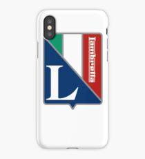 Lambretta Italia Badge DISTRESSED iPhone Case/Skin