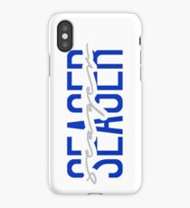 corey seager name font iPhone Case/Skin