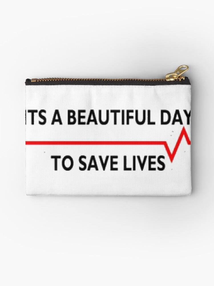 Bolsos de mano «Hermoso día para salvar vidas, grises anatomía» de ...