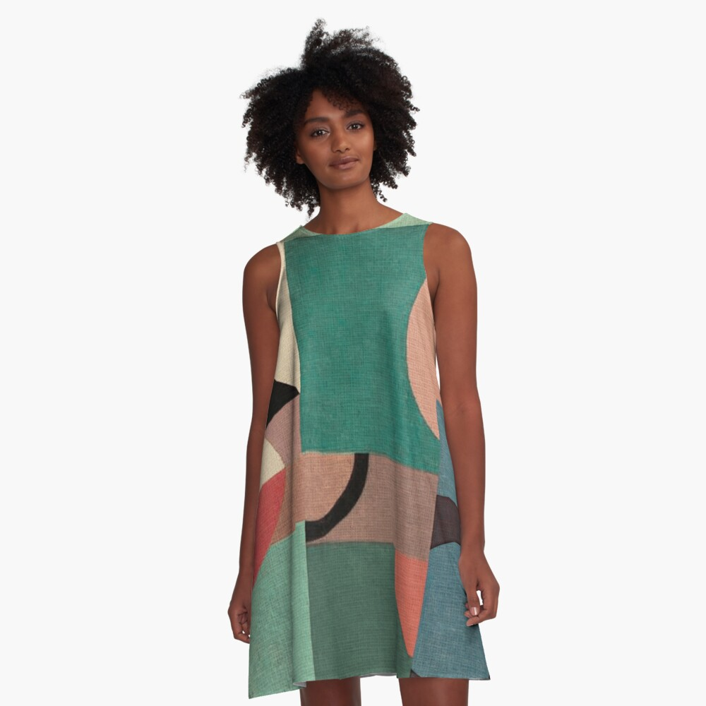 Sailing in Calm Nightfall A-Line Dress