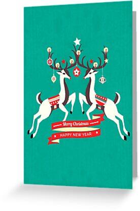 Christmas Reindeers  by ShowMeMars