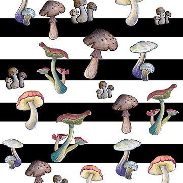 Mushroom explosion by Gnomenfrau