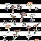 Mushroom Explosion von Gnomenfrau