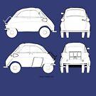 Isetta bubble car by Boxzero