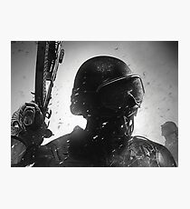 Military soldier Photographic Print