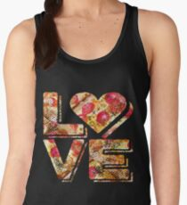 I Love Heart Pizza Yummy Pepperoni Cheese Bread Women's Tank Top