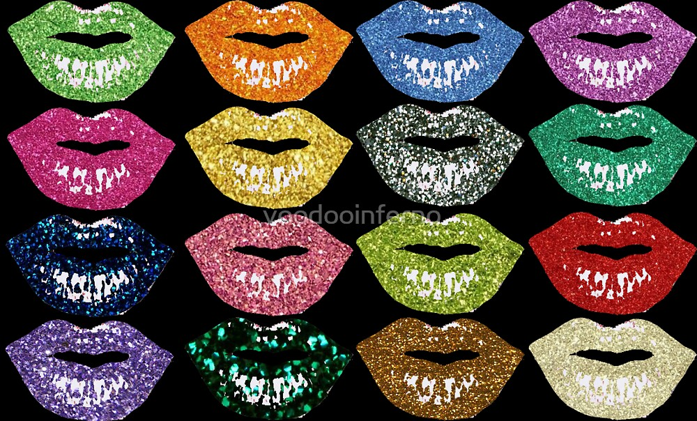 lips by voodooinferno