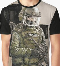 Military Polizei Graphic T-Shirt